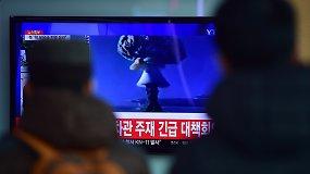Šiaurės Korėja giriasi apie vandenilio bombos sėkmę