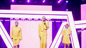 """Nacionalinės """"Eurovizijos"""" nugalėtojai – """"The Roop"""""""