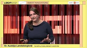 LOGIN 2021. Austėja Landsbergienė: Alfa karta: labiausiai išsilavinusi istorijoje? O gal dar per anksti apie tai kalbėti?