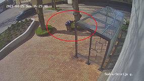 """Alytuje pagrobta statulėlė """"Nasredinas ant asiliuko"""": pareigūnai prašo padėti atpažinti asmenį"""