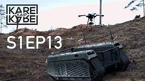"""""""Geležinio Vilko"""" pratybose – NATO pajėgumų išbandymas ir Estijos nuotoliniu būdu valdoma karinė technika (anonsas)"""