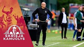 """""""Skrieja kamuolys"""": skausmai Baltijos taurėje, V.Urbono ateitis ir žvilgsnis į Europos čempionatą"""
