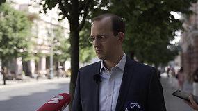 M.Skuodis: neatmestina, kad sankcijų Baltarusijai paketas bus dar plečiamas