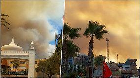 Eduardas dalijasi užfiksuotais dramatiškais vaizdais iš Turkijos viešbučio