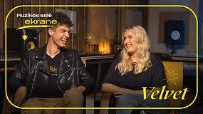 Velvet apie muzikavimą Alytuje, Medžių melagių sėkmę ir debiutinį albumą | Muzikos salė ekrane