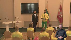 Prezidentūroje – Lietuvos paralimpinės rinktinės išlydėtuvės į Tokijo žaidynes