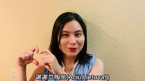 Taivaniečiai dėkoja Lietuvai už atsiųstas vakcinas nuo koronaviruso