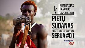 """""""Ekspedicija: neatrastas pasaulis"""". Šalis, kurioje šūviai girdimi kiekvieną dieną – pavojingasis Pietų Sudanas"""