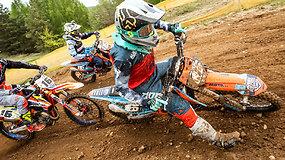 Motociklų kroso sezono atidarymas Pakruojyje