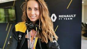 """Monake gyvenanti išskirtinių drabužių kūrėja Eglė Ruškytė – """"Formulės 1"""" piloto Nico Hulkenbergo širdies draugė"""
