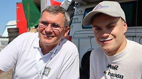 """Europos ralio kroso čempionas Rokas Baciuška debiutavo """"Aurum 1006 km"""" lenktynėse"""