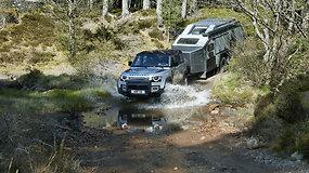 "Frankfurte pristatytas ""Land Rover Defender"""
