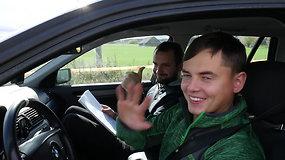 """""""Rally Classic"""" Druskininkai: lenktynininkai V.Žala ir V.Švedas apie sudėtingiausias trasas"""