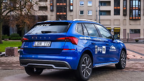 "Renkame ""Tautos automobilį 2020"": miesto visureigis Škoda Kamiq"