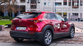 "Renkame ""Tautos automobilį 2020"":  Mazda CX-30"