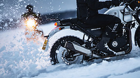 Karolis Mieliauskas Laplandijoje ruošė motociklininkus kelionei per Baikalą