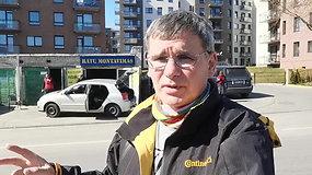 Padangų keitimas karantino metu Vilniuje, Žvėryno servise