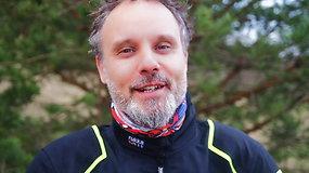 """Motociklininkas Karolis Mieliauskas išbandė naują navigacijos programėlę """"SimyRaid"""""""