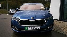 """Pirmas žvilgsnis į ketvirtos kartos """"Škoda Octavia"""""""