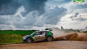 """""""Rally Žemaitija 2021"""" – 7/10 greičio ruožai"""