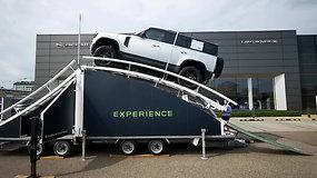 """Susipažinkite su naujuoju """"Land Rover Defender"""""""