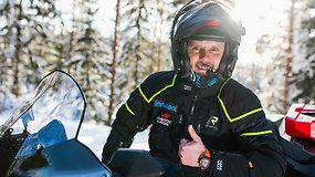 Naujas Karolio Mieliausko iššūkis: from Baltic to Arctic