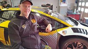 """Ramūnas Čapkauskas Mugello F1 trasoje išbandė komandos """"Šiauliai RD Signs"""" Lamborghini Huracan"""