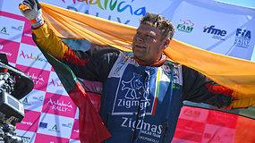 Motociklininkas Modestas Siliūnas Andalūzijos ralyje iškovoj kelialapį į Dakarą