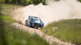 """""""Rally Žemaitija"""": vaizdai iš greičio ruožų"""