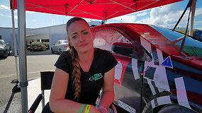 Gazas ir Stabdis. Ernesta Globytė – apie pasirengimą Barselonos 24 val. lenktynėms ir incidentą Palangoje