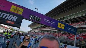24 val. lenktynių startas Barselonoje