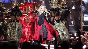 Madonnos ašaros prieš koncertą Stokholme: teroristai mūsų nenutildys