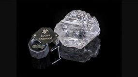Botsvanoje rastas antrasis didžiausias pasaulyje deimantas