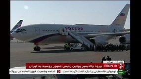 Vladimiras Putinas atvyko į Teherano dujų konferenciją