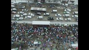 Sniego audra pridarė rūpesčių centrinėje Kinijoje