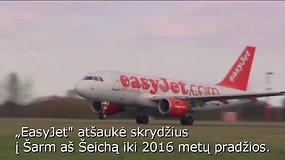 Europos aviakompanijos ir kelionių organizatoriai atideda skrydžius į Egiptą