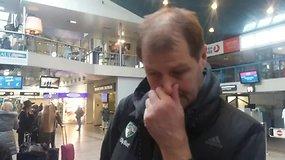 """Gintaras Krapikas į Barseloną išvyksta sutelkęs dėmesį """"Žalgirio"""" Achilo kulnui"""