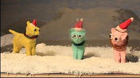 """Pasaulis eina iš proto dėl Kalėdų dainas miaukiančių kačių """"Jingle Cats"""""""