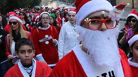Kalėdų senelių bėgimas Peru, Huankajuje