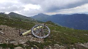 Pasivaikščiojimas Žemuosiuose Tatruose, šalia Chopoko viršūnės