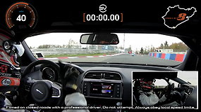 """Jaguar XE SV Project 8"" rekordas Niurburgringe: 20,8 km – per 7 minutes ir 21,2 sekundės"