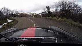 """""""Flamers racing"""" trečioji diena Monte Karlo ralyje"""