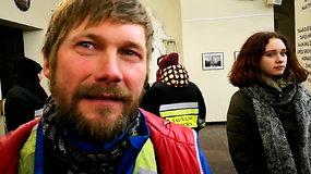 Ultramaratonininkas Aidas Ardzijauskas parbėgo į Lietuvą iš Dakaro
