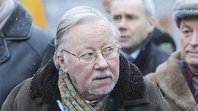"""Vytautui Landsbergiui įteiktas """"Laisvės ženklas"""""""