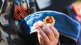 Tūkstančiai Lietuvos rusų Antakalnio kapinėse minėjo Pergalės dieną