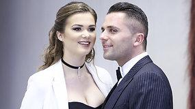 Susituokė modelis Eglė Radėnaitė ir verslininkas Darius Gališanskis