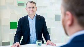 """KT pirmininkas Dainius Žalimas pristato projektą """"Bylos, pakeitusios Lietuvą"""""""