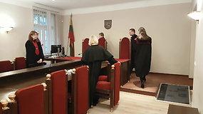 Skundą dėl teisėjo V.Kažio suėmimo svarsto trijų teisėjų kolegija
