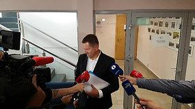 Teisėjas A.Kaminskas žiniasklaidai komentuoti nieko nepanoro