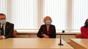 Išrinktoji pirmininkė S.Rudėnaitė pristatė naujosios Teisėjų Tarybos iššūkius